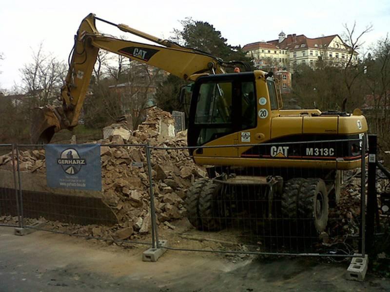 Rückbau und Abbruch eines Einfamilienhauses in Bad Kreuznach