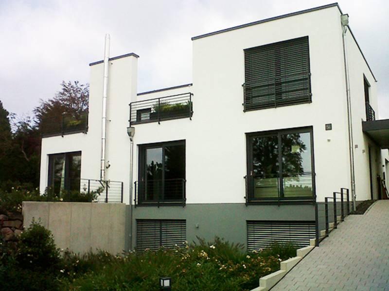 Neubau eines Einfamilienhauses in Bad Kreuznach