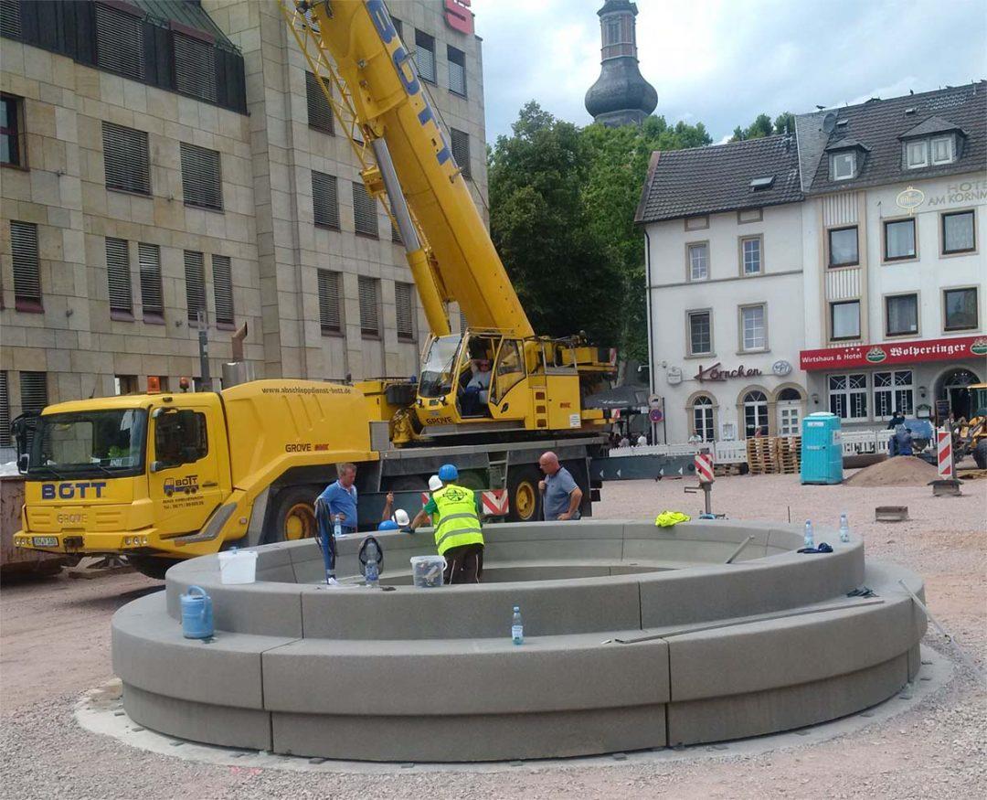 Neugestaltung des Kornmarktes im Herzen von Bad Kreuznach