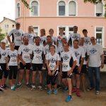 Unser Team für den Firmenlauf Bad Kreuznach im Jahr 2018.