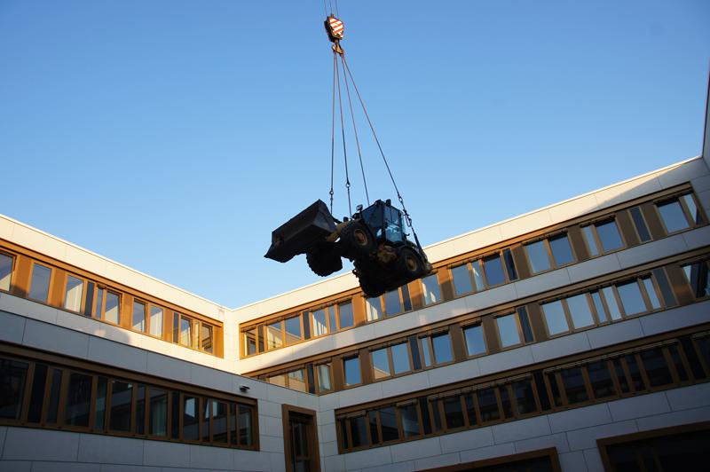 Neubau Außenanlagen Amts und Landgericht Bad Kreuznach mit Atrium